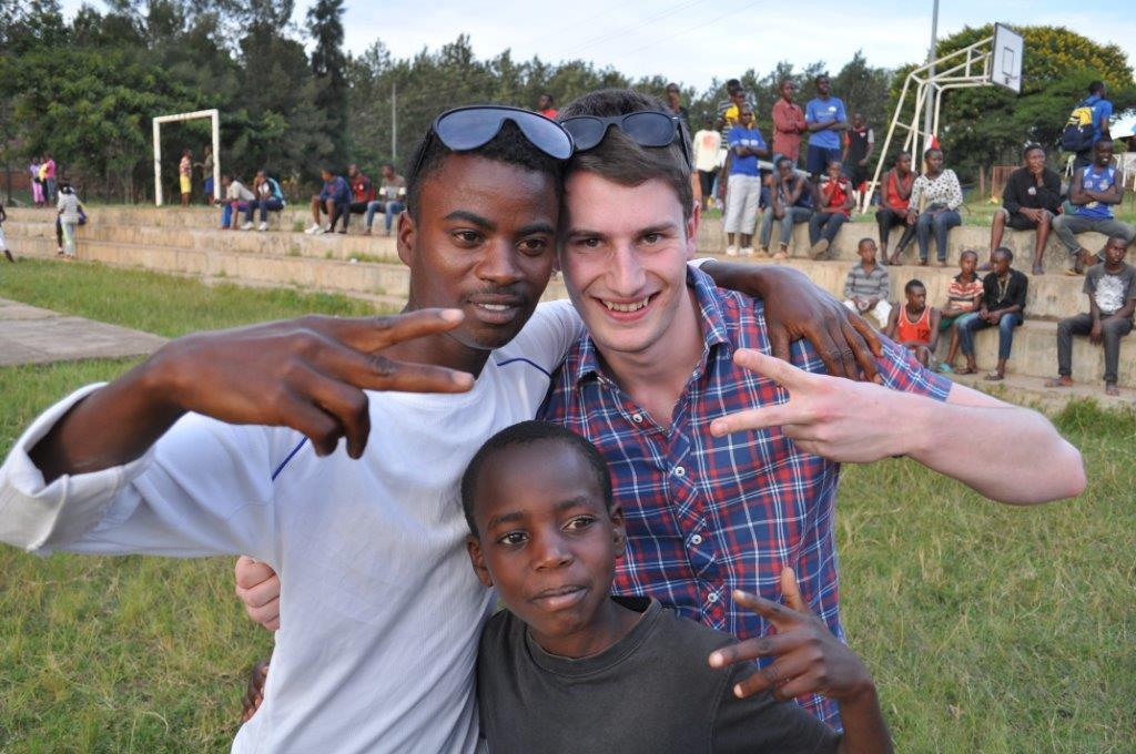 Adrian Wirtz verbrachte über ein Jahr im Centre des Jeunes