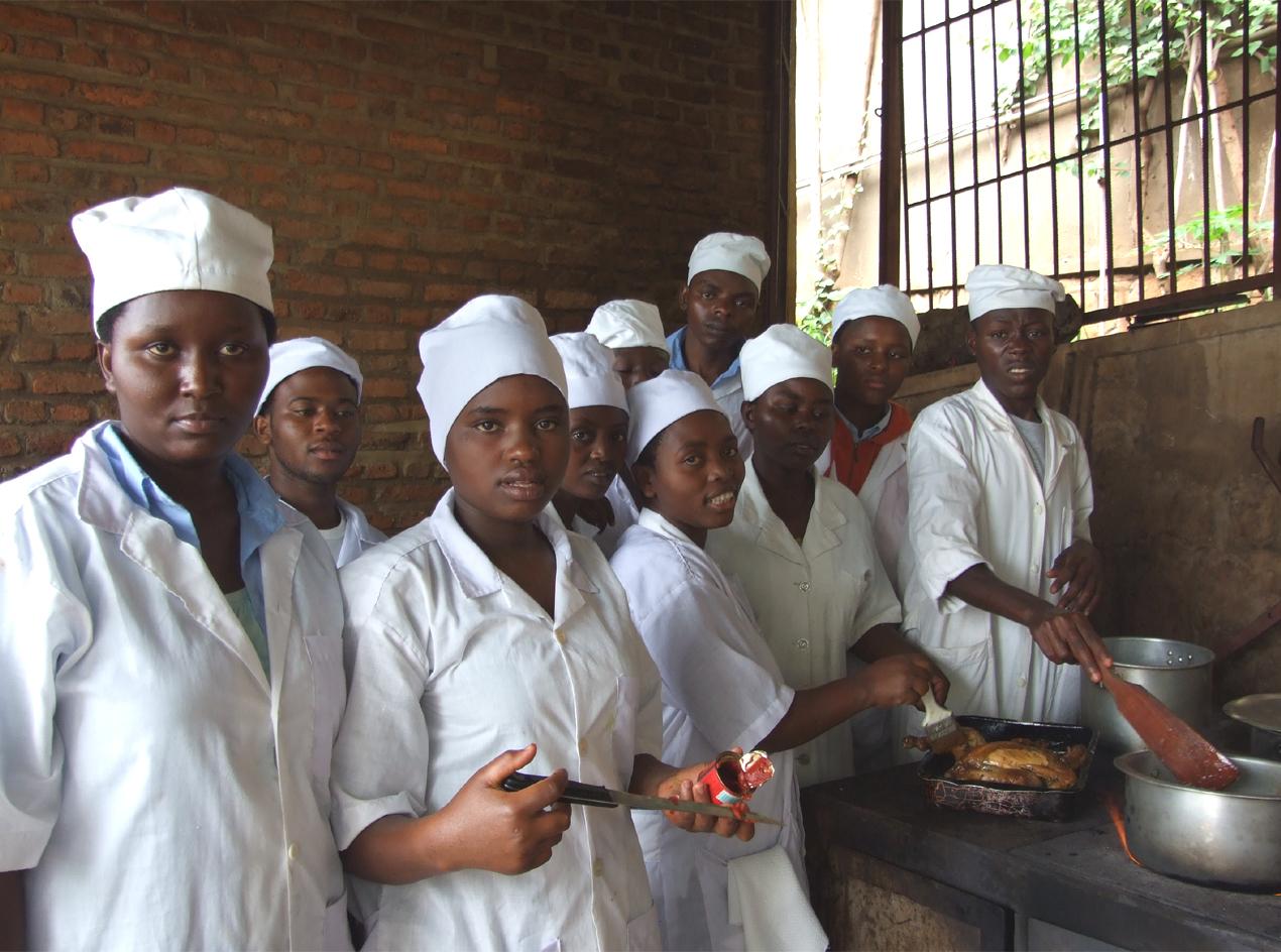 Es werden auch Köche ausgebildet