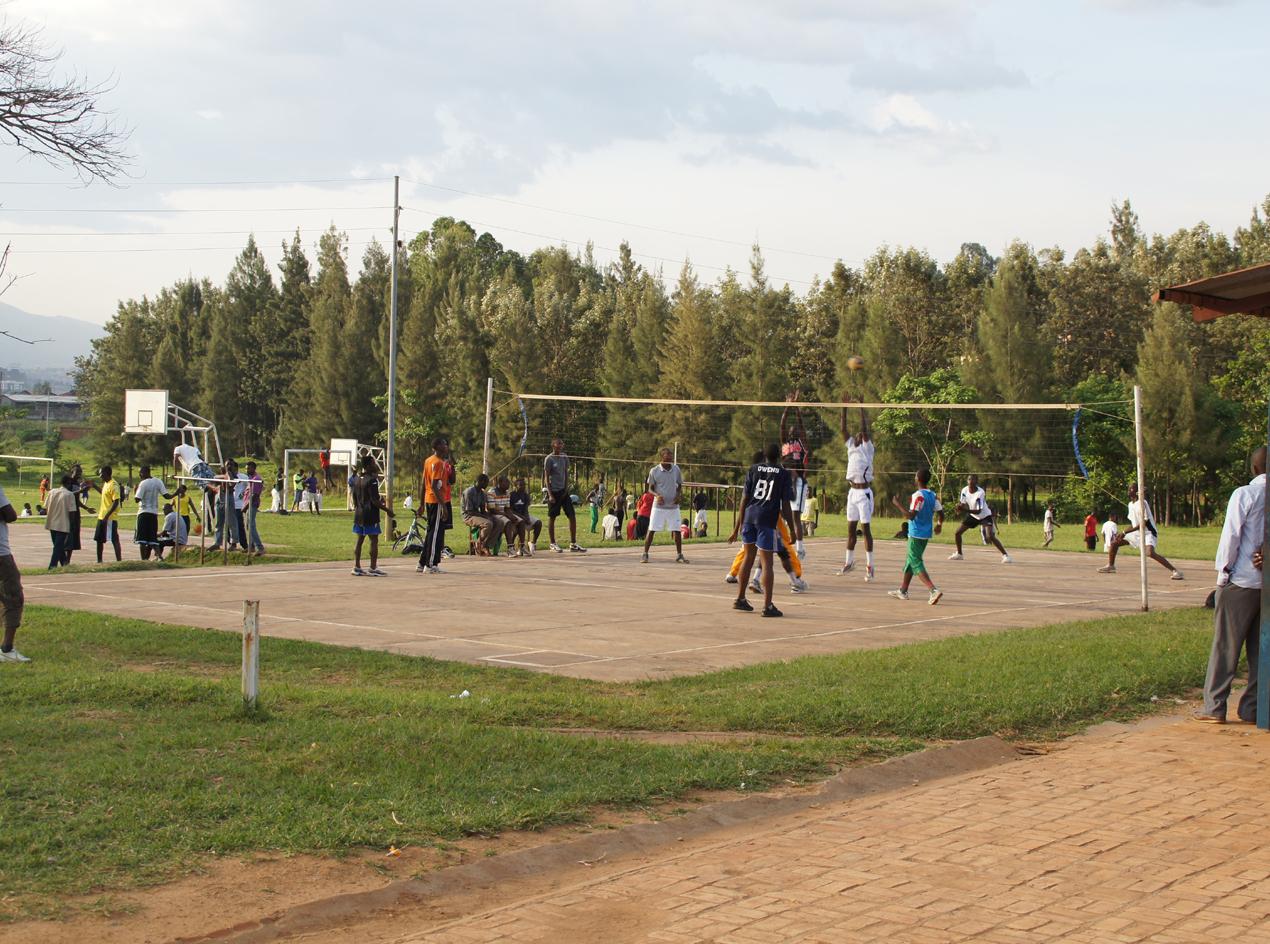 Die Sportanlagen werden in der Freizeit täglich genutzt